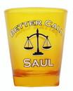 Just Funky Better Call Saul Yellow 1.5oz Shot Glass