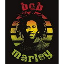 Just Funky JFL-BOB-BL-4760-C Bob Marley Circle Micro Raschel 45