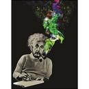 Just Funky JFL-CFB-AE-PIPE-C Albert Einstein Smoke Galaxy 45