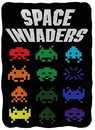 Just Funky JFL-CFB-SI-LOGO-C Space Invaders Logo 45