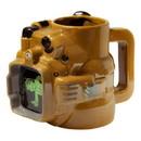 Just Funky JFL-CMG-9461-C Fallout Pip Boy 48oz Ceramic Molded Mug