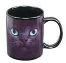 Just Funky JFL-CMG-CAT-BLK-C Black Cat With Green Eyes 11oz Coffee Mug