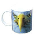 Just Funky JFL-CMG-MIS-EAGLE-C Eagle Face 11oz Coffee Mug