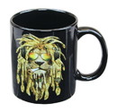 Just Funky JFL-CMG-RESMOKIN-C Reggae Lion 11oz Coffee Mug