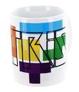 Just Funky JFL-CMG-TET-TET-C Tetris Logo 11oz Ceramic Mug