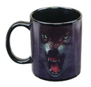 Just Funky JFL-CMG-WOLF-GRR-C Growling Wolf 11oz Coffee Mug