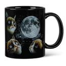 Just Funky JFL-CMGGCMNT-C Grumpy Cat Moon Heat Sensitive Color Changing Coffee Mug