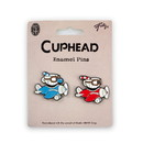 Just Funky Cuphead & Mugman In Planes Exclusive Enamel Collector Pin Set