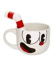 Cuphead 20oz Ceramic Molded Mug, Cuphead