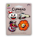 Just Funky Cuphead Exclusive Enamel Collector Pin 4-Pack