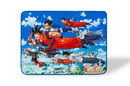 Dragon Ball Super Flying Heroes Large Fleece Throw Blanket, 60 x 45 Inches
