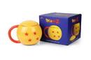 Just Funky Dragon Ball Z 4-Star Dragon Ball Mug Ceramic Mug With Lid Holds 16 Ounces