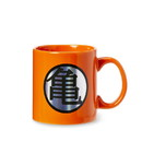Just Funky JFL-DBZ-CMG-8282-C Dragon Ball Z Kame Kanji & Logo Orange Ceramic Mug Large Cup Holds 20 Ounces
