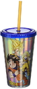 Just Funky Dragon Ball Z 16oz Holographic Travel Cup with Straw