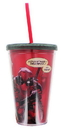 Just Funky JFL-DEADPLCUP-C Marvel Deadpool Carnival Cup With Smoke Lid