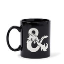 Just Funky JFL-DND-CMG-18974-C Dungeons & Dragons Black Ceramic Ampersand Logo Mug - 16-Ounces