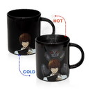 Just Funky Death Note Light Yagami/ Ryuk Heat Changing 16oz Ceramic Mug