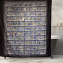 Just Funky Fallout Perks Plastic Shower Curtain