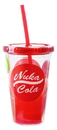 Just Funky JFL-FALLCC11193-C Fallout Nuka Cola 16oz Carnival Cup w/ Molded Ice Cubes