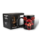 Just Funky Five Nights At Freddy's Foxy 20oz Molded Relief Mug