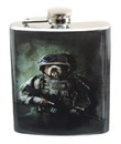Just Funky JFL-FSK-COMAR-C Combat Marine Dog 7oz Flask