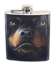 Just Funky JFL-FSK-DO-RTR-C Rottweiler Face 7oz Flask