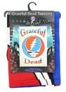 Just Funky JFL-GDTAP4979-C Grateful Dead Steal Your Face Logo White 60