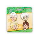 Just Funky JFL-GG-BTN-13933-C Golden Girls 4-Piece Enamel Collector Pin Set