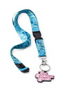 Just Funky JFL-GG-LYD-18771-C The Golden Girls Scented Break-Away Lanyard With Charm | Lavender Scented
