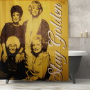 Just Funky Golden Girls Stay Golden Plastic Shower Curtain