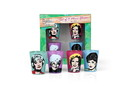 Just Funky JFL-GG-SG4-21132-C Golden Girls 2oz Character Shot Glasses Set of 4