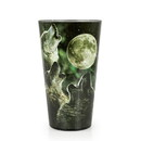 Just Funky Wolf Pack Howling At The Moon 16oz Pint Glass