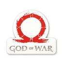 Just Funky God of War (2018) Omega Logo Car Magnet