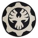 Just Funky JFL-GOW-BL-13447-C Gears of War Phoenix Omen Round Fleece Throw Blanket - 60