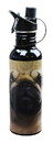 Just Funky JFL-H20DOGPUG-C The Mountain Pug Face Water Bottle