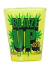 Just Funky Blaze Up Shot Glass