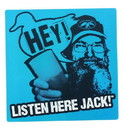 Just Funky Duck Commander Si Listen Here Jack Magnet