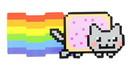 Just Funky JFL-MAG-NYANNYAN-C Nyan Cat Magnet