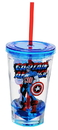 Just Funky JFL-MARVCCC8918-C Marvel Retro Captain America 19oz Carnival Cup