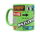 Mario Kart 11oz Foil Print Decal Coffee Mug