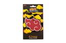Just Funky JFL-NARU-AIR-24861-C Naruto Akatsuki Red Rain Cloud Hanging Car Air Freshener Vanilla Scented