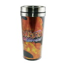 Just Funky Naruto Foil Print Uchiha Sasuka 19oz Steel Travel Mug