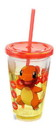 Just Funky JFL-PKM-CC-5923-C Pokemon Charmander 18oz Carnival Cup w/ Floating Confetti Pokeballs