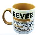 Just Funky JFL-PKM-CMG-12356-C Pokemon Pokedex Evee 20oz Ceramic Mug