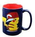 Just Funky JFL-PKM-CMG-8557-C Pokemon Pikachu Trainer 16oz Coffee Mug