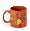 Just Funky JFL-PKM-CMG-969-C Pokemon Charmander Orange Foil Print 20oz Coffee Mug