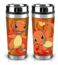 Just Funky JFL-PKM-TRL-6263-JFC-C Pokemon Charmander 16oz Travel Mug