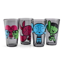 Just Funky Power Puff Girls 4 Pack Set Pint Glass