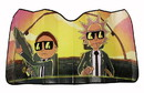 Just Funky Rick and Morty Run the Jewels Accordion Auto Sunshade