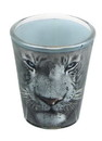 Just Funky JFL-SG-TIGER-WHITE-C White Tiger Face 2oz Shot Glass